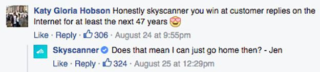 Man Queries Skyscanner About A 47-Year Connection He Got On The Site. When They Replied, Things Got Hilarious!