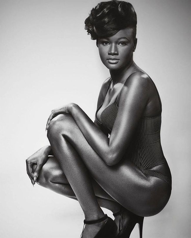 Teen Bullied For Her Amazingly Dark Skin, Becomes A Model And Conquers The Internet In Spite Of All The Haters