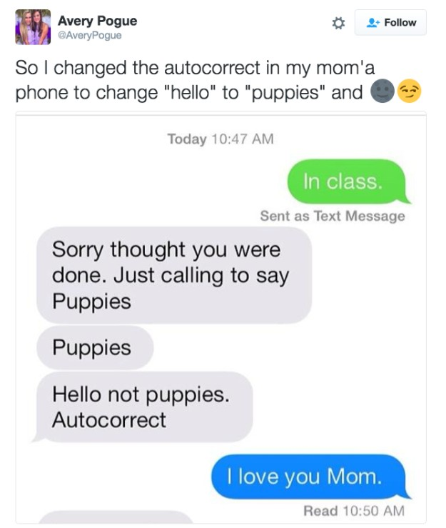 Hilarious Text Replacement Pranks That Will Make You Laugh Way - 21 hilarious text replacement pranks that will make you laugh way more than you should