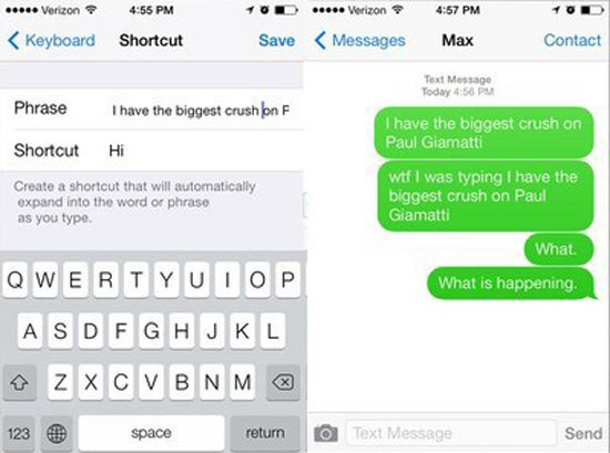 16 Hilarious Text Replacement Pranks That Will Make You Laugh Way More Than You Should