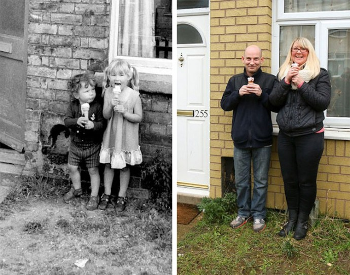 Photographer Tracks Down People He Photographed In The Street 40 Years Ago And Recreates The Same Pictures