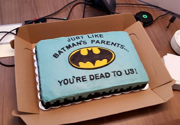 20 Hilarious Goodbye Cakes People Got On Their Last Day At