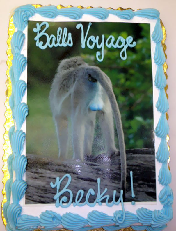 20 Hilarious Goodbye Cakes People Got On Their Last Day At ...