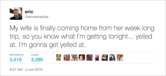 Of The Most Hilarious Marriage Tweets Ever Written Page Of - 15 hilarious marriage tweets ever written
