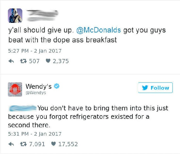 Of The Most Hilariously Sarcastic Comebacks From Wendys - 32 hilarious facebook comebacks that burn too much to be forgotten