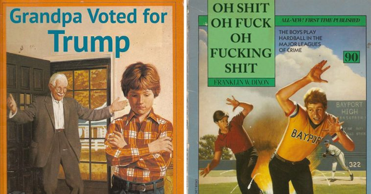 Children S Book Covers Without Titles ~ Children s book covers photoshopped in hilarious ways