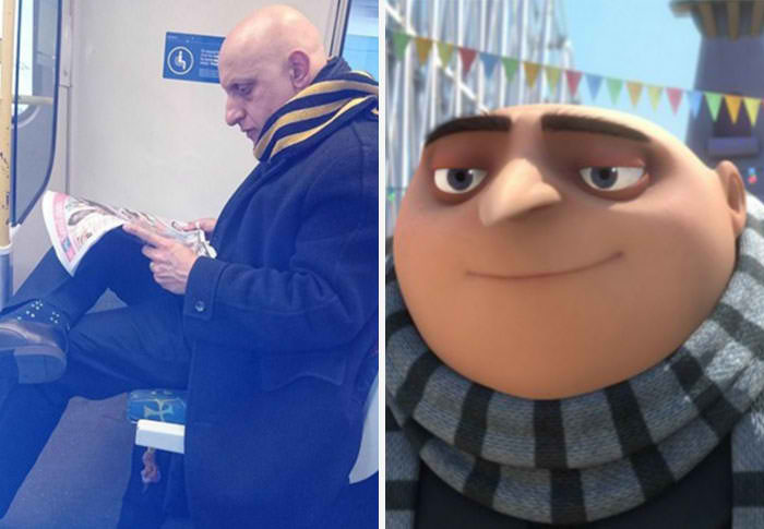 25 People Who Are Cartoon Characters Perfect Real Life Counterparts