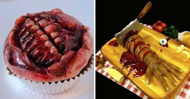 27 creepy cakes that are so realistic you won t dare to eat them