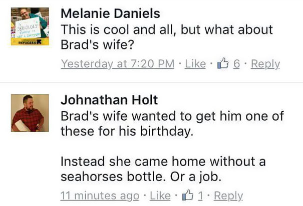 Husband Asks Cracker Barrel Why His Wife Was Fired After Years - Husband text wife pics little accident kid home hilariously freaks