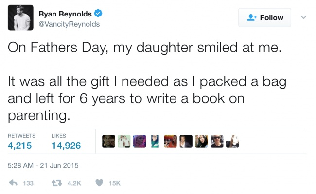 Reasons Why Ryan Reynolds Is The Most Hilarious Dad On Twitter - Deadpool and wolverine are trolling each other on twitter and its the best battle ever