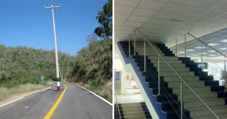 32 Hilarious Construction Fails By People Who Probably Got