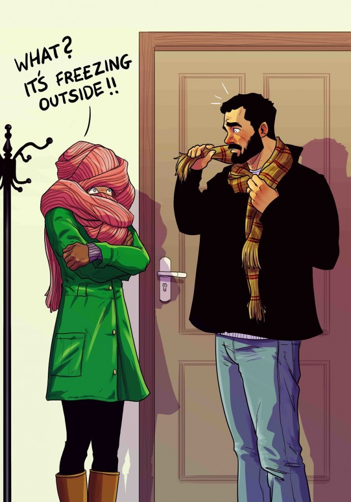 Artist Illustrates The Real Truths Of His Everyday Life