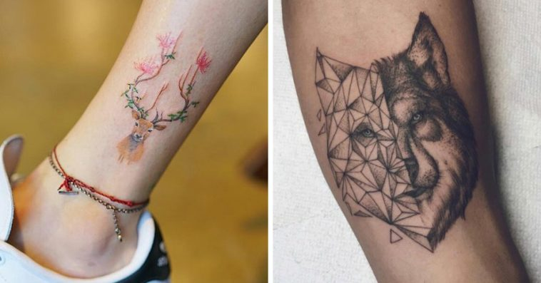 Image of: Panda Just Something creative 20 Adorable Tattoos For People Who Totally Love Animals