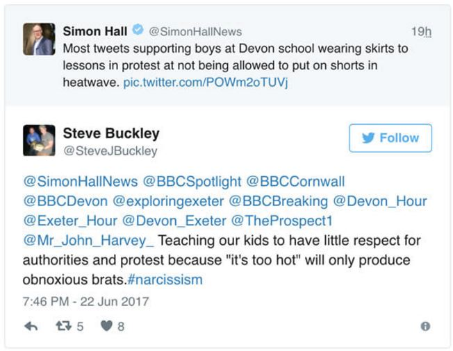 British Schoolboys Were Denied To Wear Shorts At School During - Unpopular railway puts 15 year old intern in charge of their twitter account he takes the internet by storm