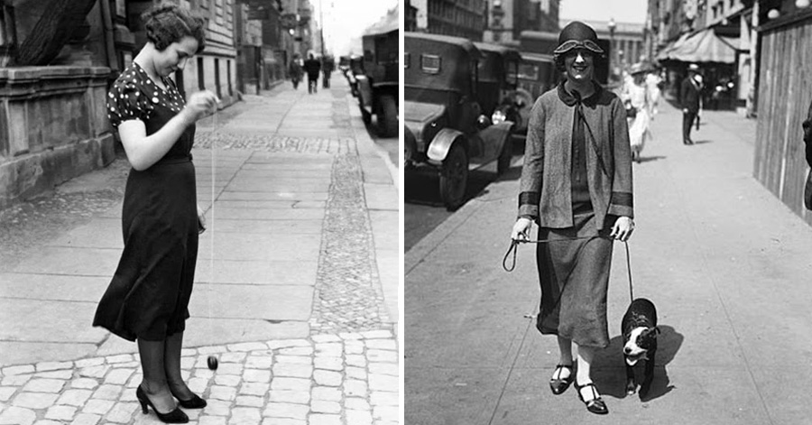 15+ Photos Showing The Amazing Women's Street Style From the 1920s