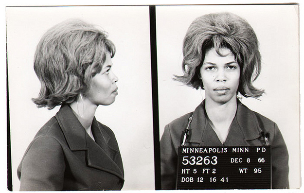 15+ Vintage Bad Girl Mugshots From Between The 1940s And ...