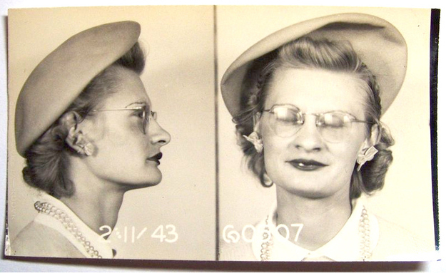 Vintage Bad Girl Mugshots From Between The S And S - 15 vintage bad girl mugshots from between the 1940s and 1960s