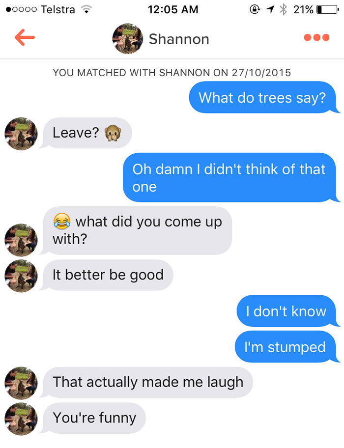30 Hilarious Tinder Puns That Are Totally Worth A Date