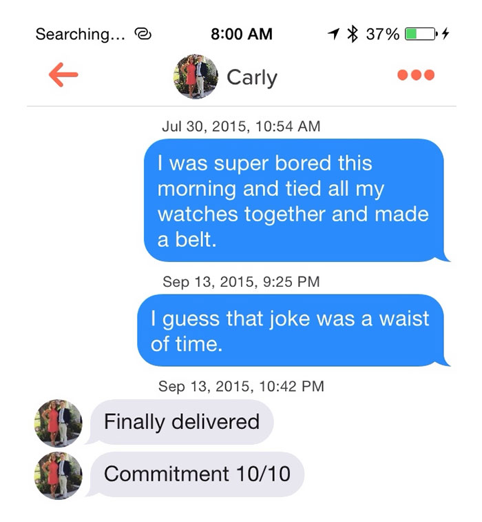 best puns for tinder dating