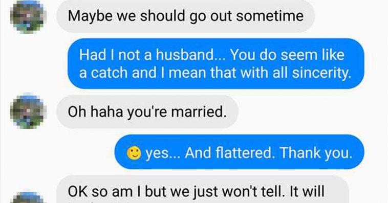 Women who flirt with married men