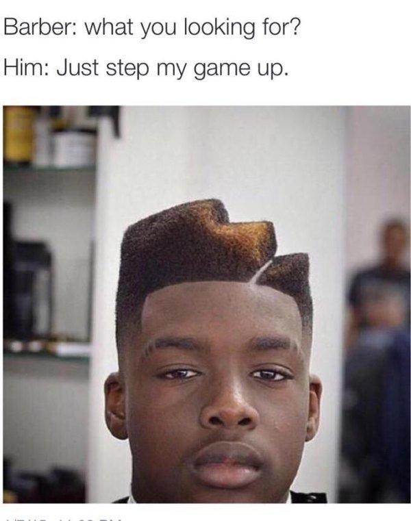 15 Hilarious Haircut Fails That Became Say No More Memes