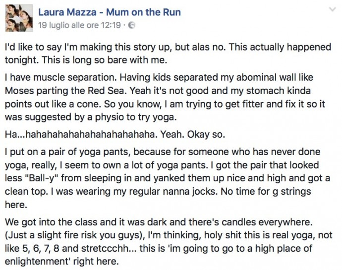 Mom Farts In Yoga Class And The Hilarious Story Is So - Mom farts yoga class hilarious story embarrassing might send shivers spine