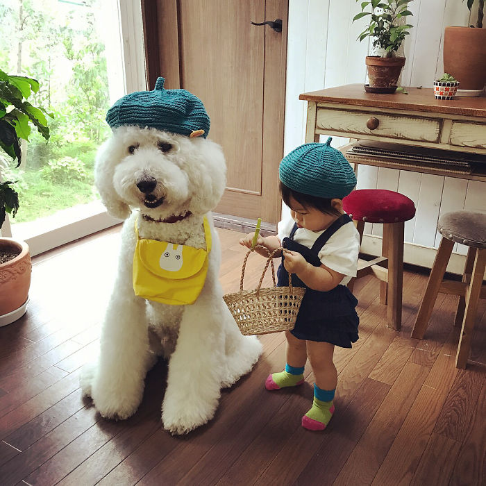 Meet Mame And Riku The Cute Little Japanese Girl And The