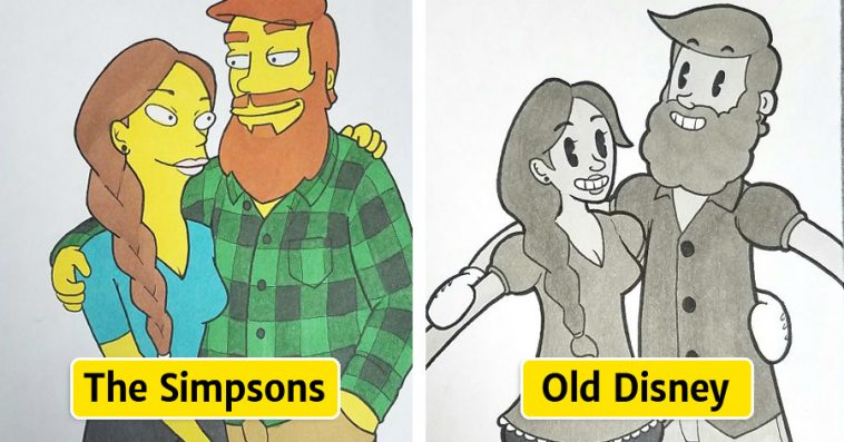 Adult cartoons with a difference