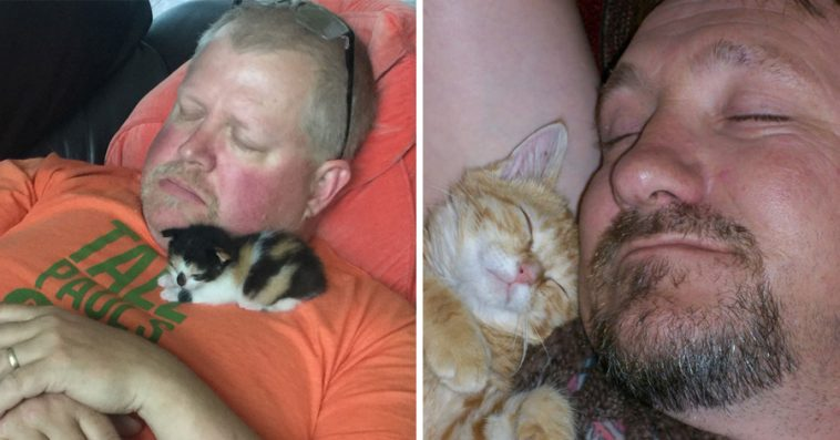 """24 Inflexible Dads Who """"Didn't Want The Damn Cat In The House"""""""